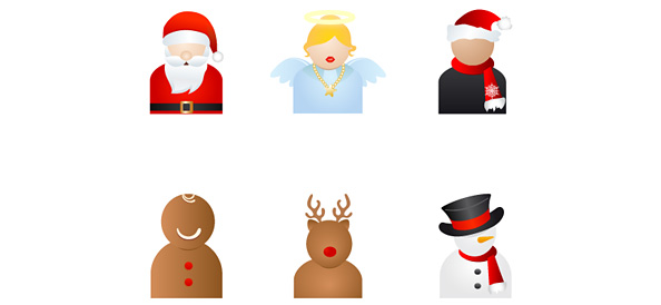 6 Holiday Characters