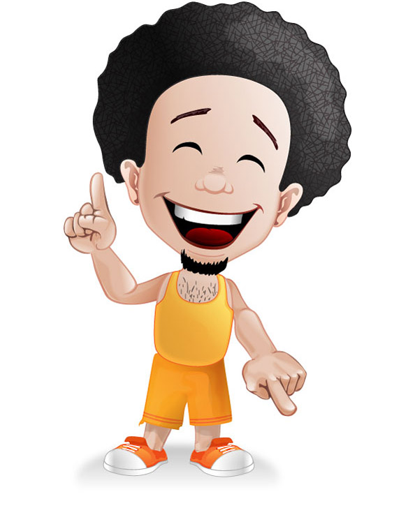 Basketball Cartoon Character Preview Big