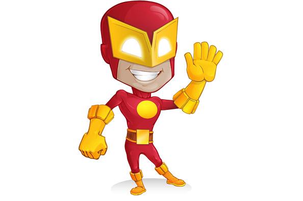 Superhero Vector Character - Vector Characters