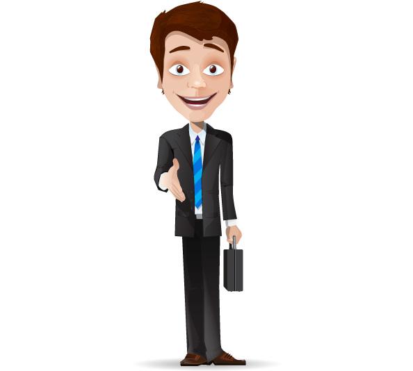 businessman clipart vector - photo #1