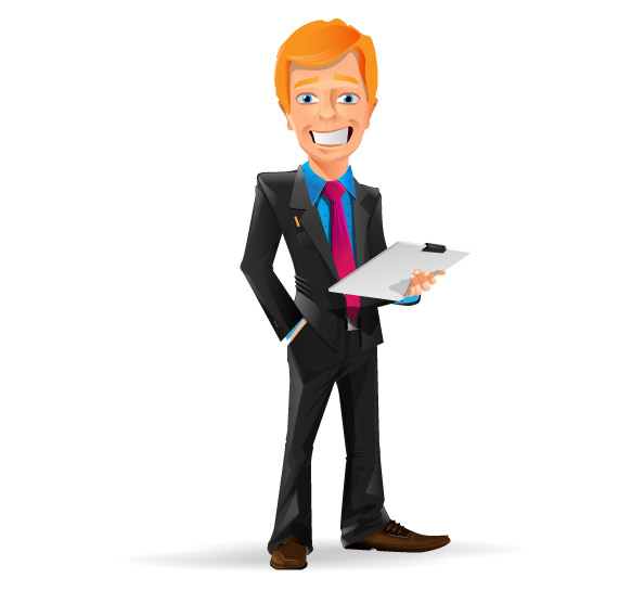 businessman clipart vector - photo #12