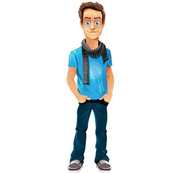 Cartoon Characters Boy : Boy cartoon characters imgkid the image kid